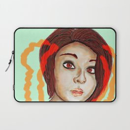 i´m thinking about you Laptop Sleeve