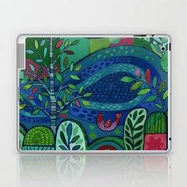 Bird by the Pond Laptop & iPad Skin