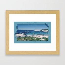 Sudafrica Framed Art Print