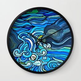 HIGH WATER Wall Clock
