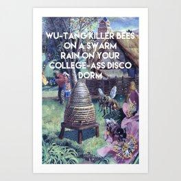 WU-TANG KILLER BEE'S  Art Print