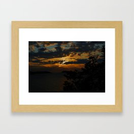 KEEP CALM CHIVE ON Framed Art Print