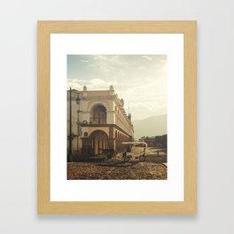 Antigua, Guatema Palace Framed Art Print
