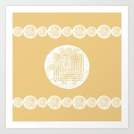 The Labyrinth Art Print