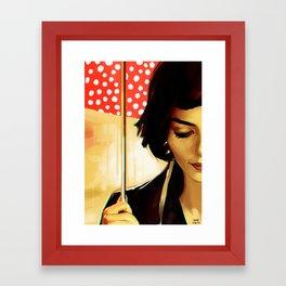 Comptine d'Un Autre Été Framed Art Print