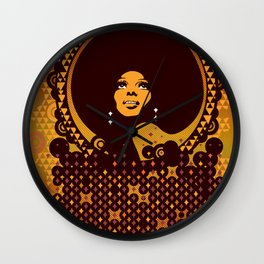 Disco Diva Wall Clock