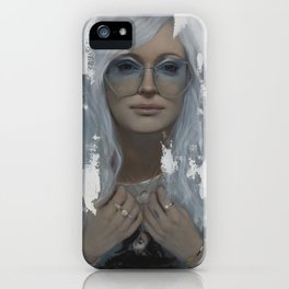 Gina and The Dragon  iPhone Case