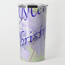 Merry Christmas greeting Travel Mug