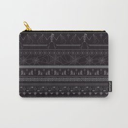 Creepin' it real - black & slate Carry-All Pouch