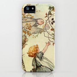 """""""Bother the Wind"""" by Duncan Carse iPhone Case"""