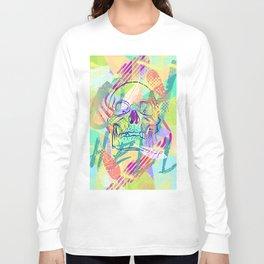 Oh Hell Sherbert Skull Long Sleeve T-shirt