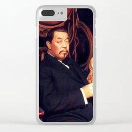 Warner Oland, Vintage Actor Clear iPhone Case