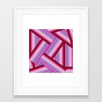 gradient Framed Art Prints featuring Gradient by Louise Machado