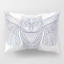 Ethnic Owl Pillow Sham