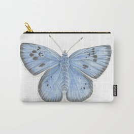 Large Blue Butterfly Watercolour Carry-All Pouch