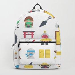 CUTE NINJA PATTERN Backpack