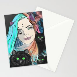 Aphrodite Hathor Stationery Cards