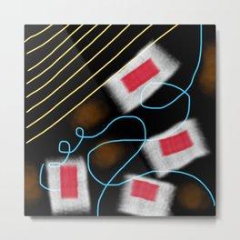 Band-Aids Metal Print