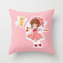 Sakura & Kero Throw Pillow
