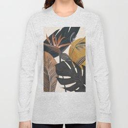 Abstract Tropical Art III Long Sleeve T-shirt