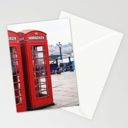 Old English Phone Boxes Stationery Cards