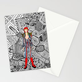 Heroes Fashion 3 Stationery Cards