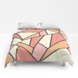 Geometric Colour Pattern V4 Comforters