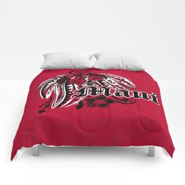 Maui Poly Tribal Distressed Comforters