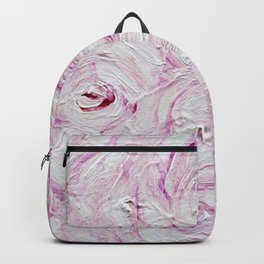 PINK PALE PETALS BY ROBERT DALLAS Backpack