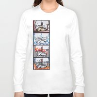 converse Long Sleeve T-shirts featuring Converse by Creo