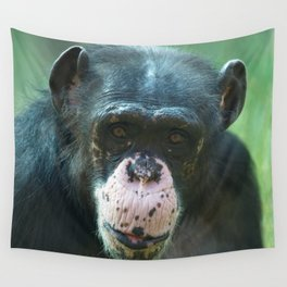 Rosie The Chimpanzee Wall Tapestry