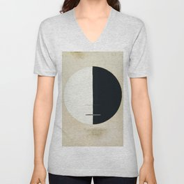 Hilma Af Klint Buddha's Standpoint In The Earthly Life Unisex V-Neck
