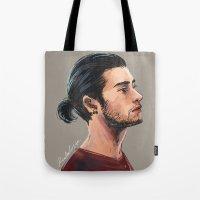 zen Tote Bags featuring Zen by Rosketch