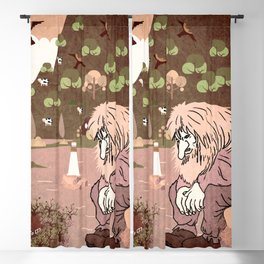 Norwegian giant  Troll 7 Blackout Curtain