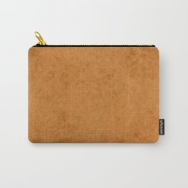 Yellow suede Carry-All Pouch