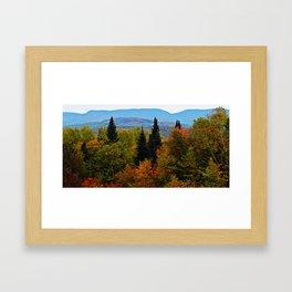 Mont Albert From Afar Framed Art Print