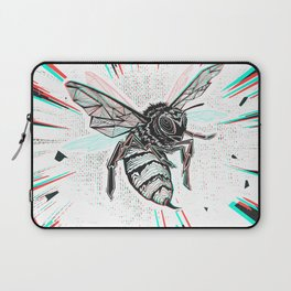 This wasp is pissed! Laptop Sleeve