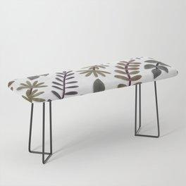 Leaves Vines Plant Painting Illustration Trending Popular Minimalistic Bench