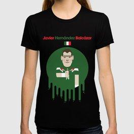 Javier Hernandez - Bayer Leverkusen Illustration T-shirt