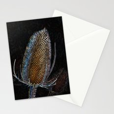 Golden Teasel Stationery Cards