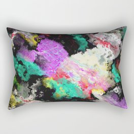 Black background texture Rectangular Pillow
