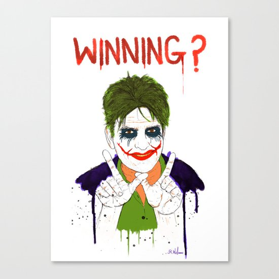 The new joker? Canvas Print