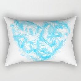Feathers heart Rectangular Pillow