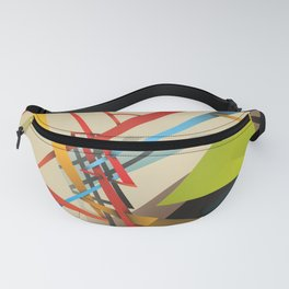 Abstraction – Sanity is Madness Fanny Pack
