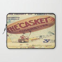 Vintage poster - The Casket Cigarettes Laptop Sleeve