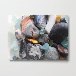 Seaglass Metal Print