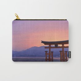 Miyajima Torii at Sunset Carry-All Pouch