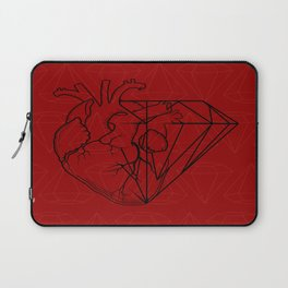 Heart Carbon Laptop Sleeve