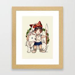 San Framed Art Print