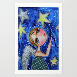 TWINKLE TWINKLE LITTLE STAR Art Print